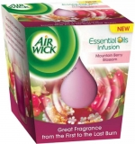 Air Wick Essential Oil Infusion candle Moutain Berry Blossom 105g