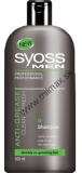 Syoss šampón 500ml Anti-Grease Clean&Fresh MEN
