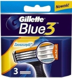 Gillette Blue3 Sense Care  3ks