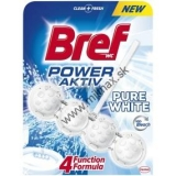 Bref Power Aktiv 4 Formula Pure White Wc blok 50 g
