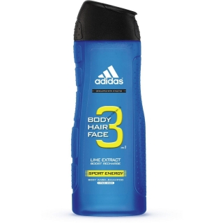 Sprchový gel ADIDAS 3v1 Sport Energy 400ml