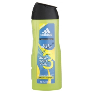 Sprchový gel ADIDAS 3v1 Get Ready 400ml