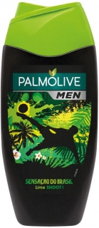 Palmolive Men Sensacao do Brasil Lime and Mint Soot sprchový gél 250 ml
