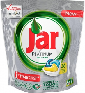 Jar Platinum All in One Yellow kapsule do umývačky 36ks