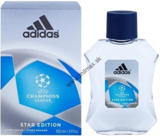 Adidas UEFA Champions League Star Edition voda po holení 100 ml