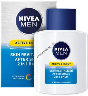 Nivea Men Active Energy revitalizačný balzam po holení 2v1 100 ml