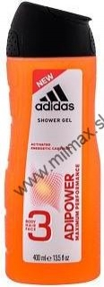 Adidas Adipower Men sprchový gél 400 ml