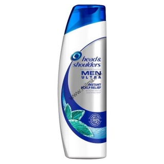 Head & Shoulders Men Ultra Instant Scalp Relief Šampón Proti Lupinám