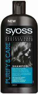 Syoss Purify & Care Roots and Tips šampón na vlasy 500 ml