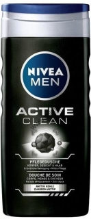 Nivea Men Active Clean sprchový gél 500 ml