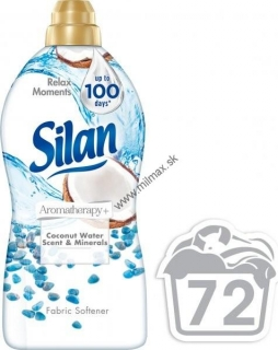 Silan Aromatherapy Coconut Water Scent & Minerals 72 praní 1800 ml