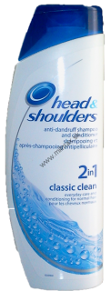 Head & Shoulders Classic Clean 2 v 1 šampón proti lupinám