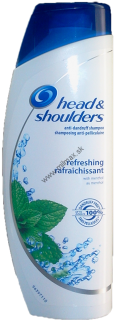Head & Shoulders šampon 400ml Menthol