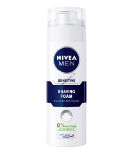 Nivea Men Sensitive pena na holenie 200 ml
