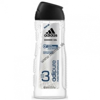 Adidas Adipure Men sprchový gel 400 ml