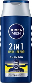 Nivea Men 2v1 šampón Protect & Care 400ml