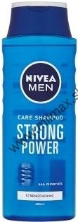 NIVEA STRONG POWER FOR MEN šampón 400 ml